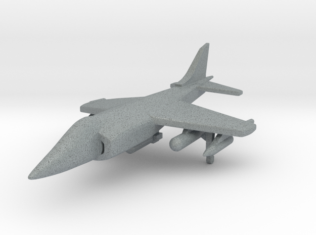 1/285 Scale Harrier w/Ordnance 3d printed