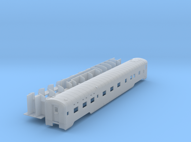 Pullman 6-6-4 lwt.sleeper, plan 4099 (1/160) in Smooth Fine Detail Plastic