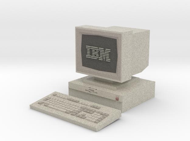 IBM PS/2 Model 30 [Hollowed] [Medium] in Full Color Sandstone