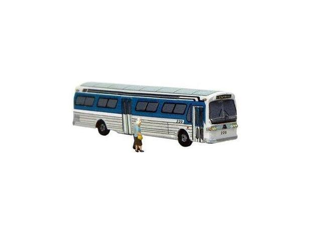 GM FishBowl Bus - Z Scale in Frosted Ultra Detail