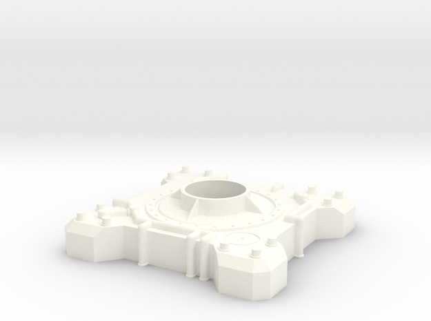 VENOM Thunderball Base. (1 of 8) in White Processed Versatile Plastic