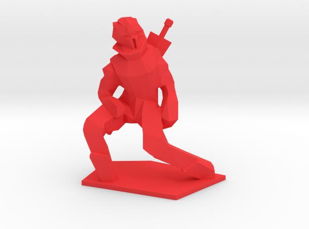 Red in Red Processed Versatile Plastic