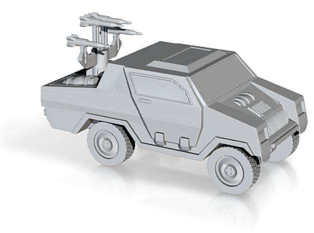 Vampire II  GI JOE Stinger inspired jeep for 28/30 in White Strong & Flexible