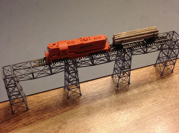 Steel Bridge Trusses Z Scale