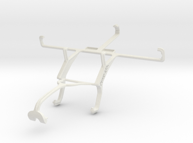 Controller mount for Xbox 360 & Asus PadFone Infin in White Natural Versatile Plastic