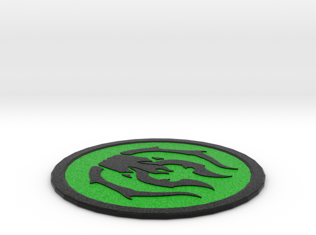 Golgari Coaster in Full Color Sandstone