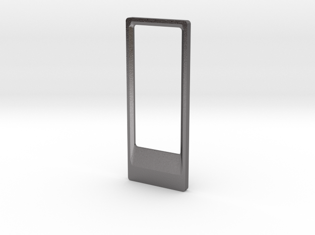 Bottle Opener Keyring in Polished Nickel Steel