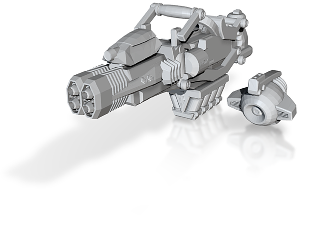 advanced thermal laser cannon 001a carried 3d printed