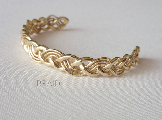 Braid in Polished Brass