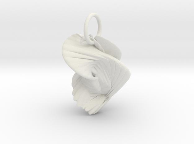 Ornament in White Natural Versatile Plastic