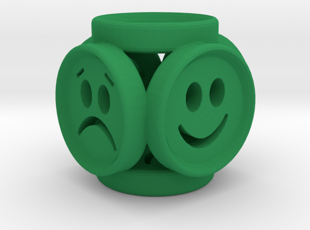 EmotionCube by PANDSRONE in Green Processed Versatile Plastic