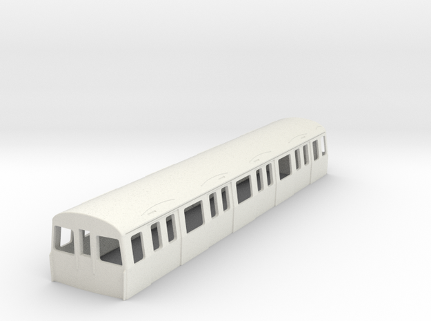 1:87 H0  C-Stock driver London Underground 3d printed