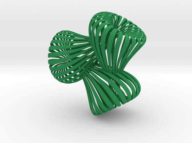 Triple Klein Bottle 3d printed