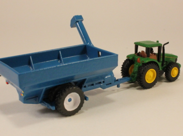 1:160 N Scale Kinze Grain Cart w/ Row Crop Duals in Frosted Ultra Detail