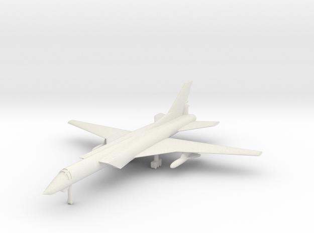 1/350 Tupolev TU-22M Backfire (x1) in White Natural Versatile Plastic