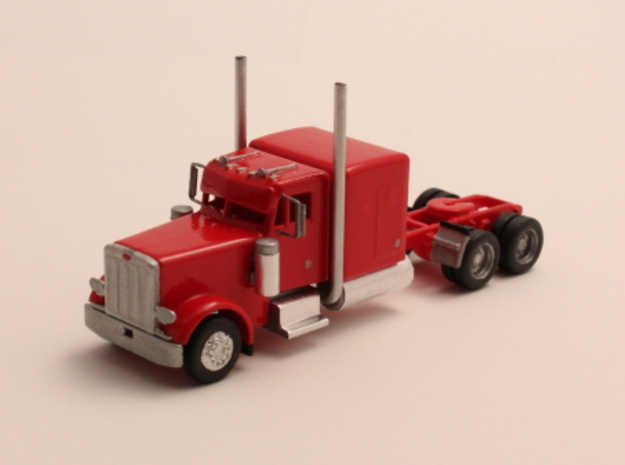 """1:160 N Scale Peterbilt 379 with 63"""" Sleeper in Smooth Fine Detail Plastic"""