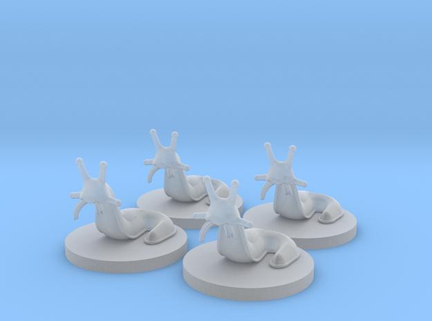 Slugs (4 pcs) 3d printed