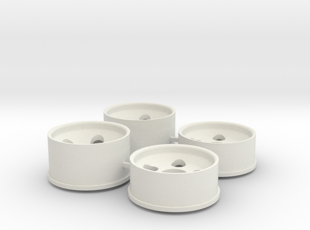 1 Offset in White Natural Versatile Plastic