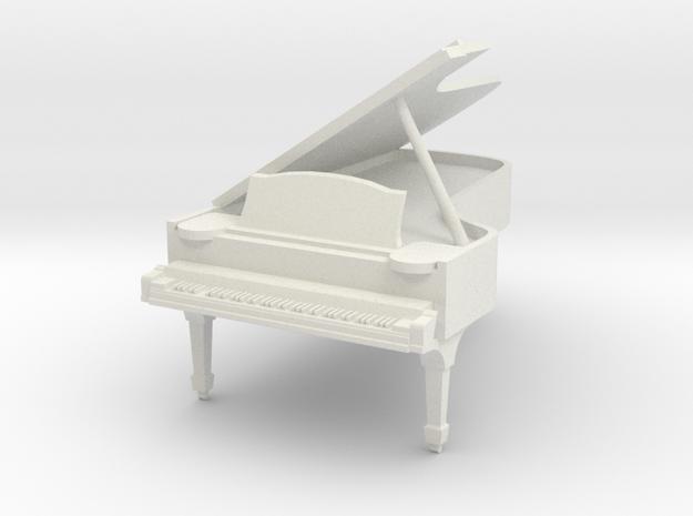 1:48 Concert Grand Piano - Open Lid