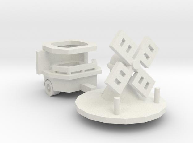"""kleine Mühle"" - 1:220 (z scale) 3d printed"