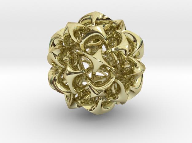 Rhombic triacontahedron II, pendant