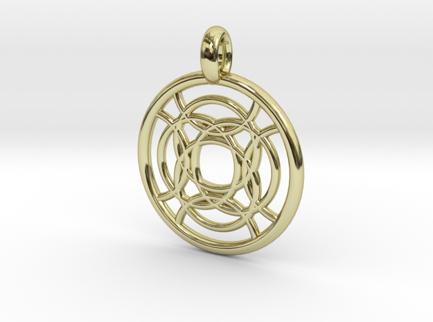 Taygete pendant in 18K Gold Plated