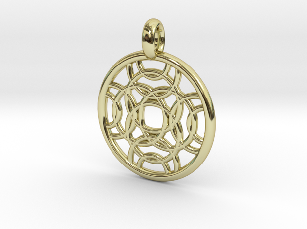 Erinome pendant in 18K Gold Plated