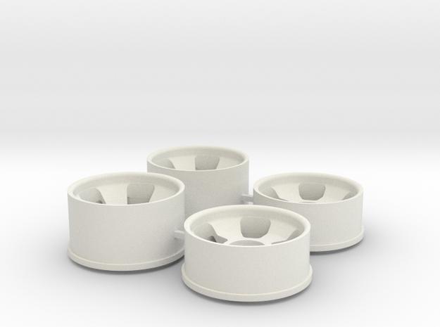 Ver2 1.0 Offset in White Natural Versatile Plastic