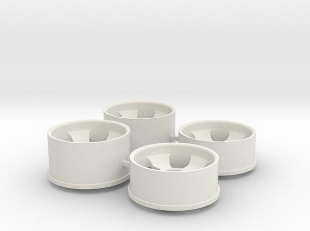 Ver2 1.5 Offset in White Natural Versatile Plastic