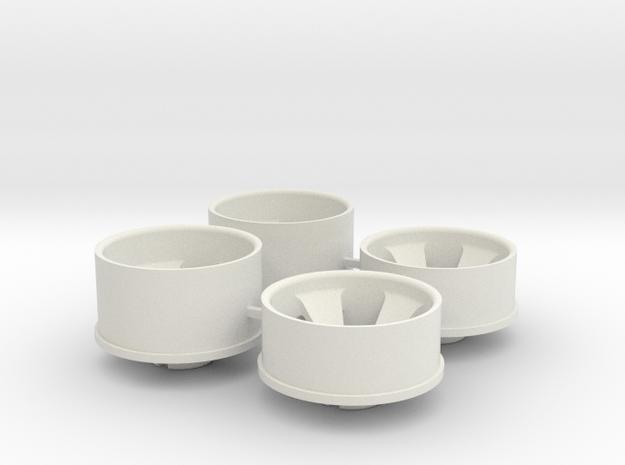 Ver2 3.5 Offset in White Natural Versatile Plastic