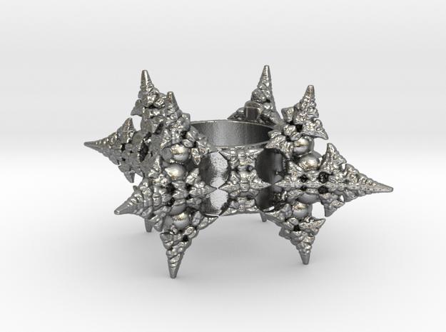 Dragon Fractal Ring 21mm 3d printed