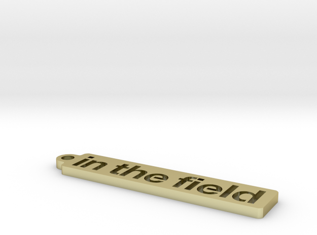 ITF Keychain 3d printed