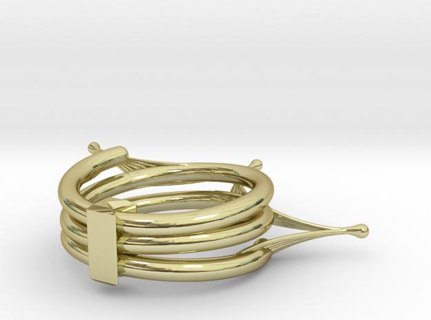 Drosera Binata Ring 3d printed
