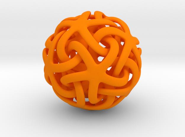 alto Estrella de mar in Orange Processed Versatile Plastic
