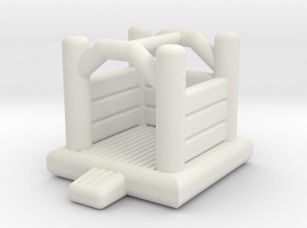 Hüpfburg 1 - 1:220 (Z scale) in White Natural Versatile Plastic