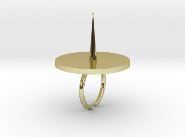 Ring hors d'oeuvres pick 3d printed