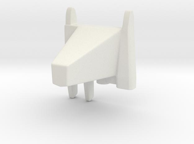 The Mars Metronome in White Natural Versatile Plastic