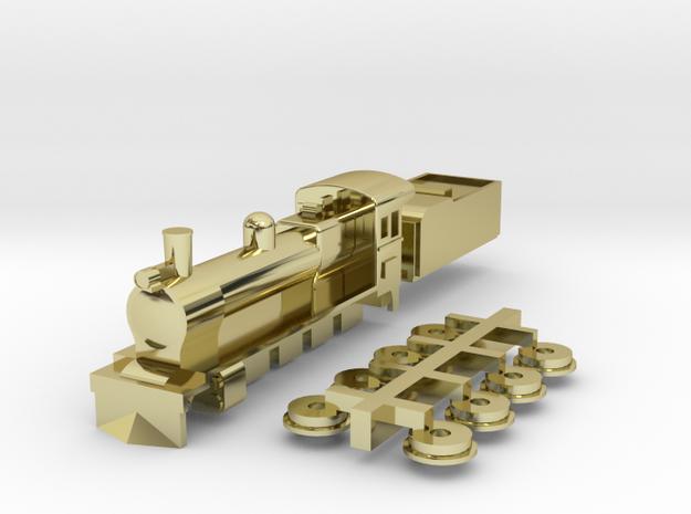 T Gauge K class loco 3d printed