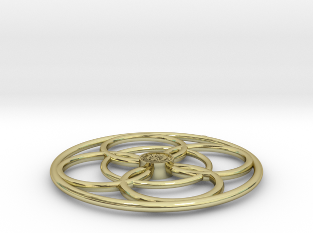 Crop Circle Inspired 3 3d printed