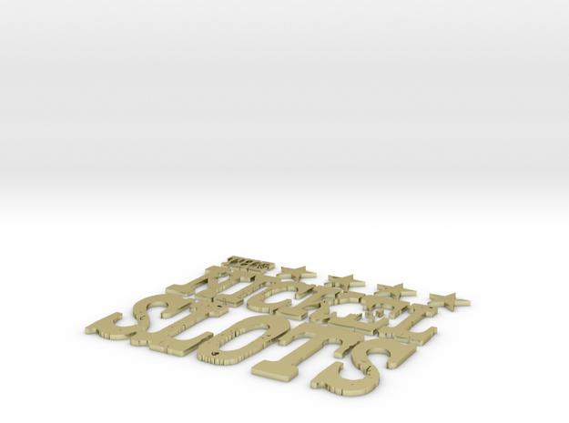 Nickel Slots 5inch tall 3d printed