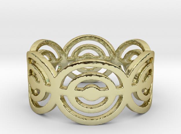 Cirkle Ring Size 9 3d printed