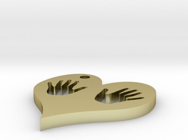 heart hands 3d printed
