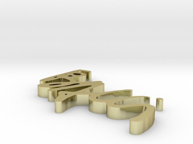 logobacci 3d printed