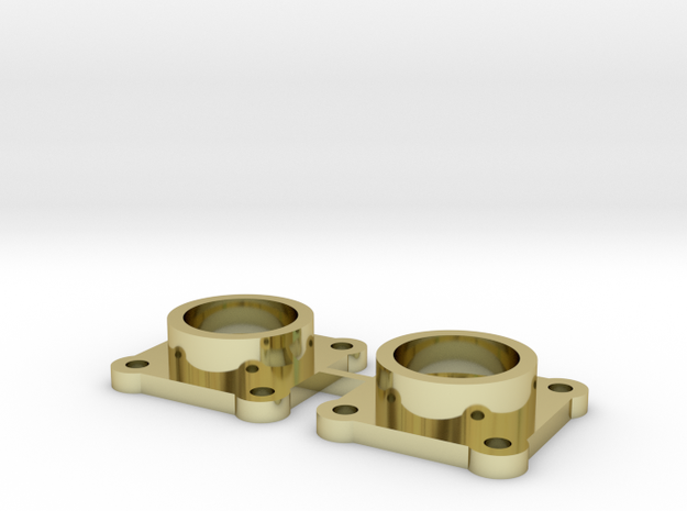 Bearing Housing Pair for 608 Bearing 3d printed