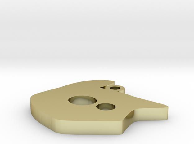 tete de chat logo 1 3d printed
