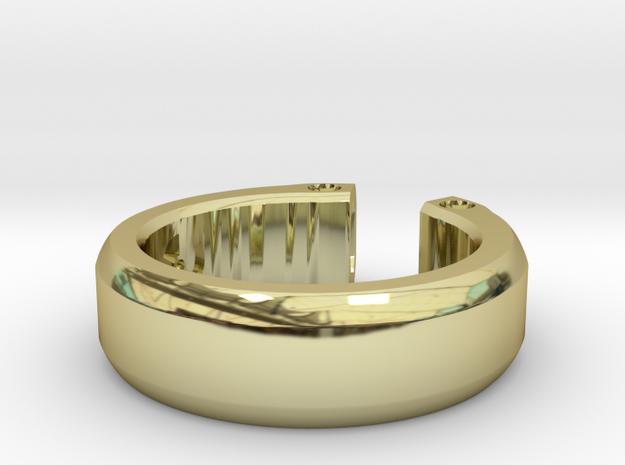 ''Duo'' Tritium Ring 3d printed