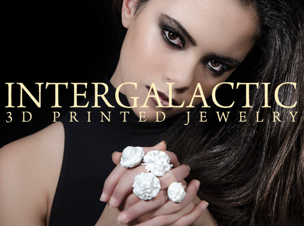 THERON Ring in White Strong & Flexible Polished