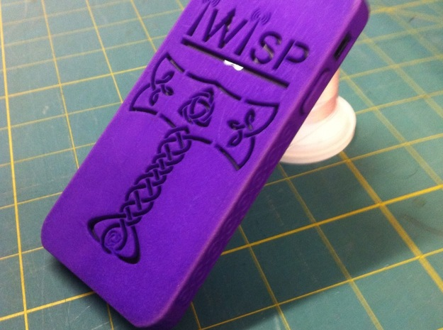 iWisp iPhone 5 Case 3d printed