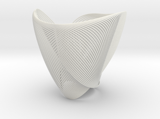Clothoid.B Lamp 3d printed