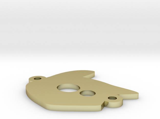 Tete chat logo bracelet 1 3d printed